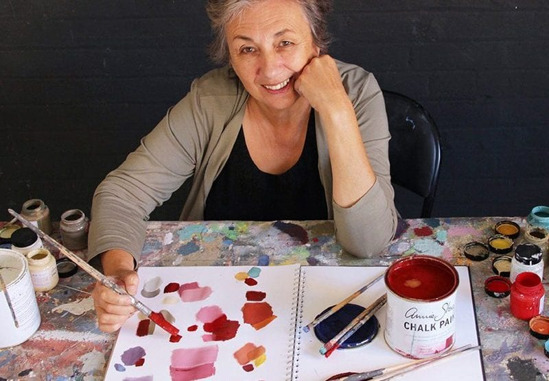 Annie Sloan the creator of Chalk Paint®
