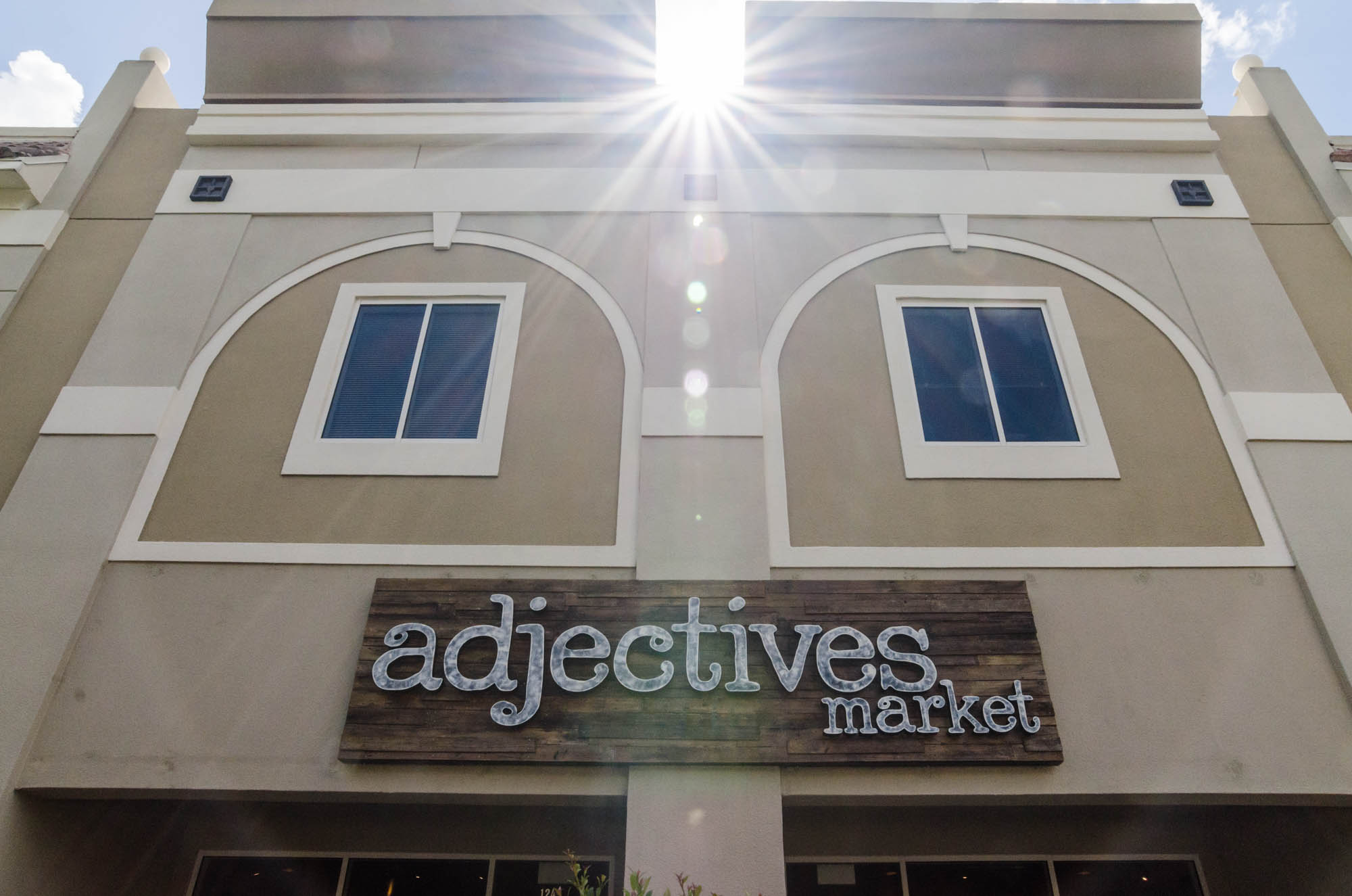 Adjectives Market Winter Park Village