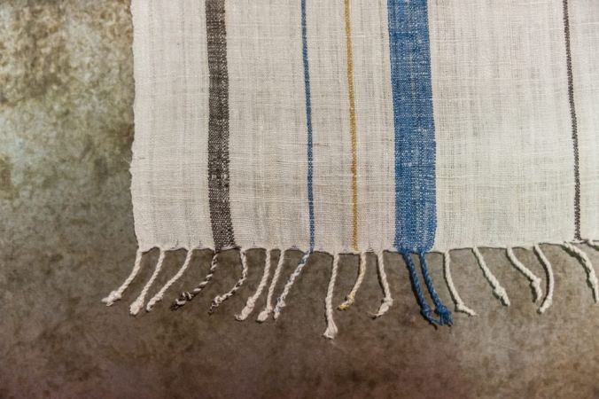 Sustainable Silk Table Runners at Adjectives