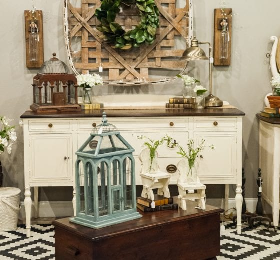 Wood Chest, Vintage Dresser and home decor at Adjectives Altamonte by Turnstyle