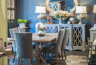 Rustic Dining Room at Adjectives Winter Park