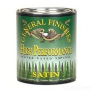 High Performance Top Coat in Satin by General Finishes