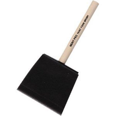 Merit Pro's Three Inch Foam Brush
