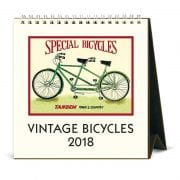 2018 Vintage Bicycles Calendar By Cavallini & Co