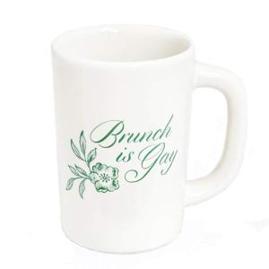Brunch is Gay Mug by Fishs Eddy