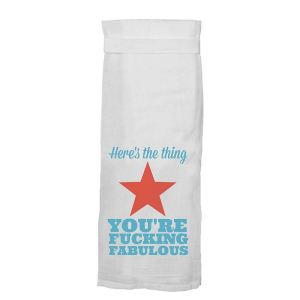 Heres The Thing Towel
