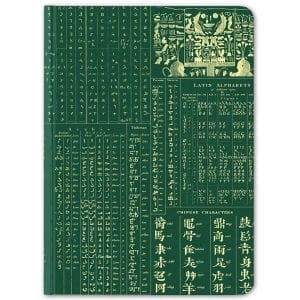 Linguistics Hardcover Journal by Cognitive Surplus